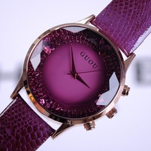 2016 Summer New Arrival Women Watches Fashion Lady Luxury Wristwatches Genuine Leather  Watch Women Bracelet Watches Wristwatch
