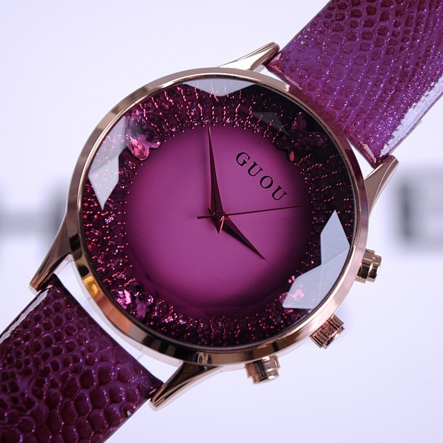 2016 Summer New Arrival Women Watches Fashion Lady Luxury Wristwatches Genuine Leather  Watch Women Bracelet Watches Wristwatch