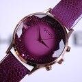 2016 Verão Nova Chegada Mulheres Relógios Dama Da Moda de Luxo relógios de Pulso de Couro Genuíno Assista Mulheres Pulseira de Relógios de Pulso