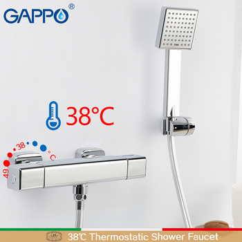 GAPPO Bathtub faucet thermostatic shower mixers in-wall faucets shower faucet thermostatic thermostat faucets