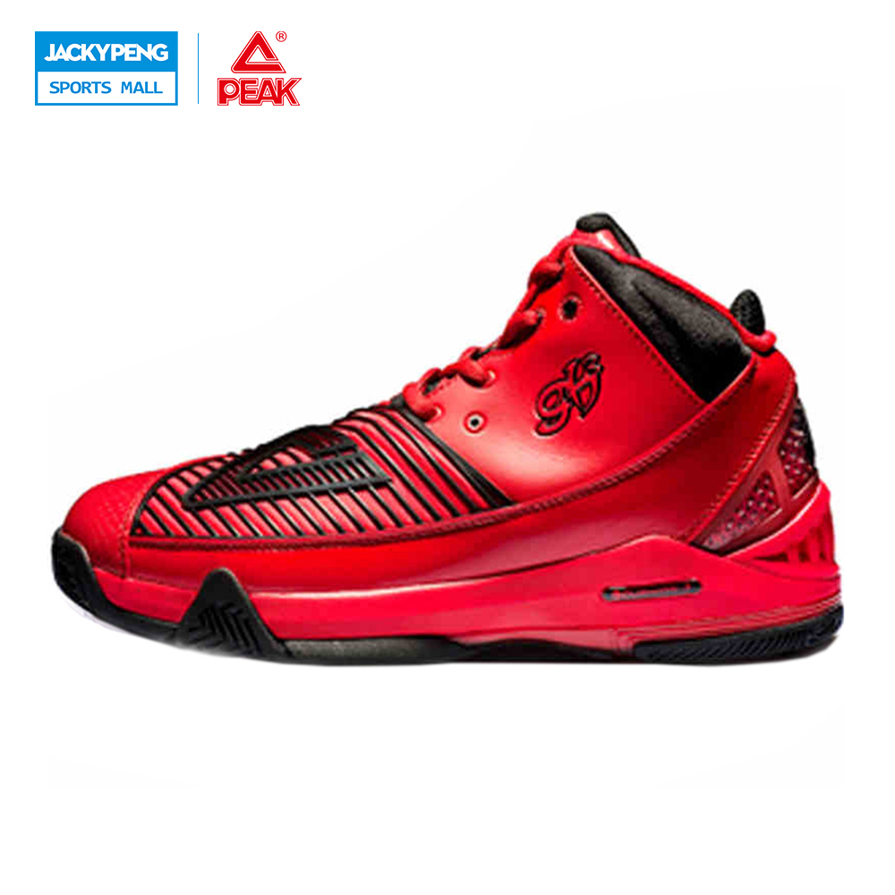 PEAK SPORT Star Series George Hill GH3 Men Basketball Shoes Athletic CUSHION-3 NON-MARKING Tech Sneakers EUR 40-50 peak sport speed eagle v men basketball shoes cushion 3 revolve tech sneakers breathable damping wear athletic boots eur 40 50