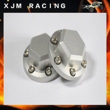 1/5 rc car racing parts,Alloy wheel hub nut-2 for baja 5b/5t/5sc