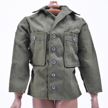 1/6 Scale DIY World War II US Military Army Green Shirt With Armband Clothing Annex Fit 12 Inch Soldier Action Figure Toys Doll злотников р в арвендейл долгое море