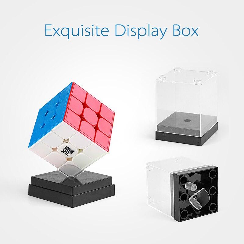 Date Moyu Weilong GTS3M 3x3x3 Magique Cube Magnétique GTS V3 M En Plastique Puzzle Vitesse Cube Weilong GTS 3 m Stickerless