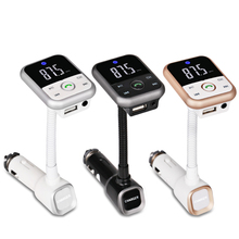 12 24v Auto Car Fm Transmitter Bluetooth  Mp3 Player Wireless Handsfree Car Kit USB Charger With Remote Control 5V 2.1A