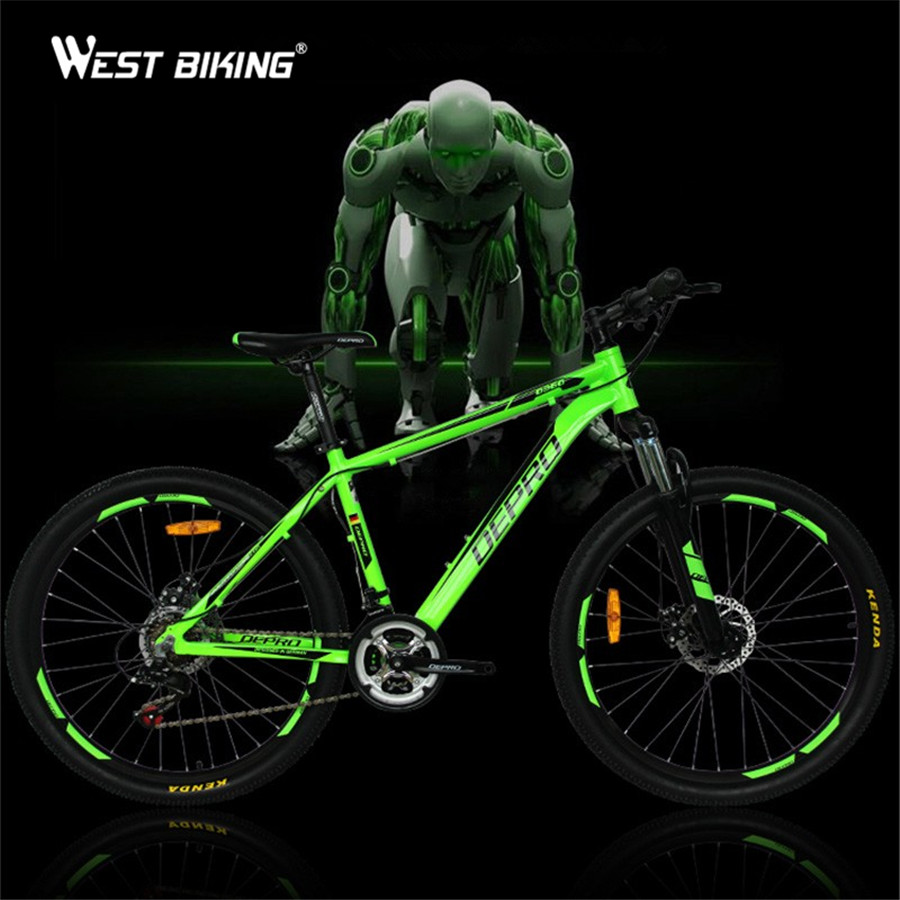 Mountain Bicycle Shockingproof Frame 21 Speed Gear Shift 26 Inch Double Disc Brakes Shifter Set for Shimano Bike Cycling Bicicle