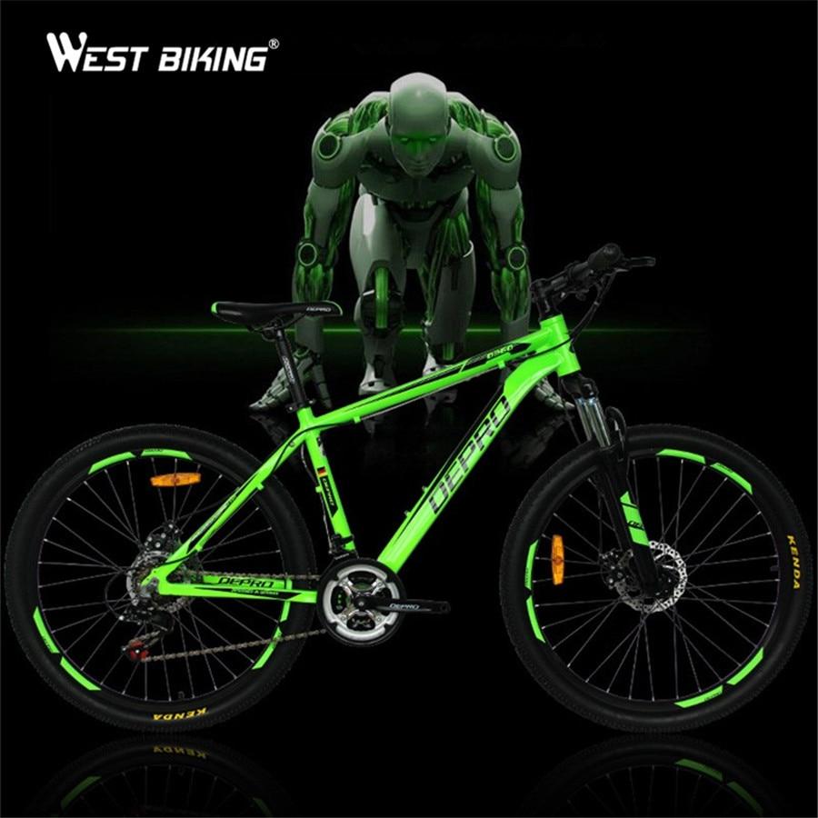 Vélo De montagne Shockingproof Cadre 21 Vitesse de Changement de Vitesse 26 pouce Double Freins À Disque Shifter Set pour Shimano Vélo Vélo Bicicle