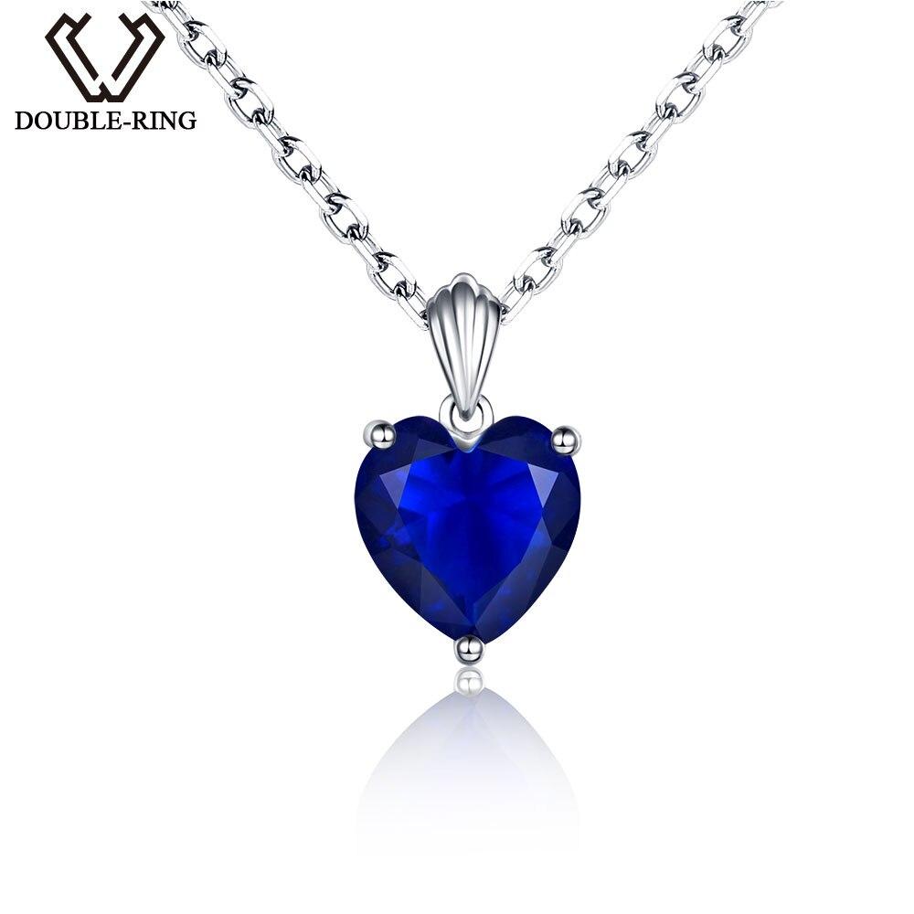 55/ct natural aut/éntica azul zafiro colgante 6/quilates ovalado de plata de ley 92,5/collares