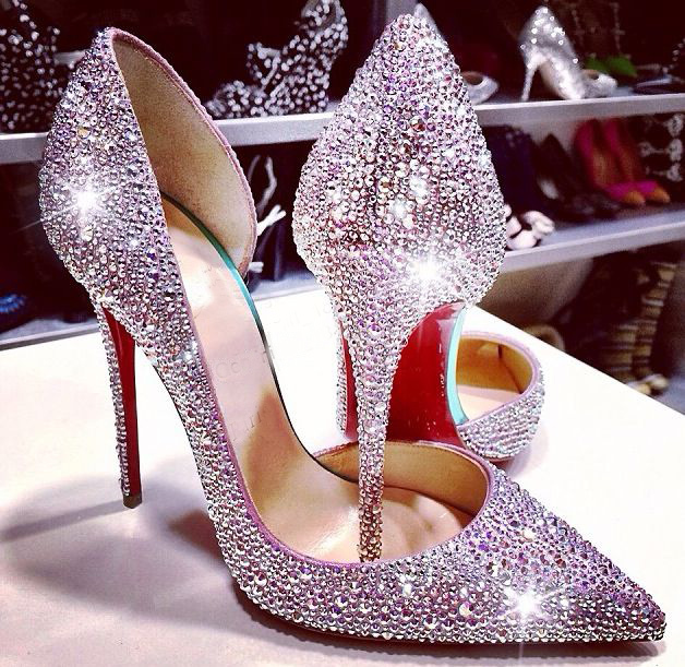 Iriza Cutout Vamp Patent Leather 10CM Red Sole High Heels Shoes Woman Pumps  2015 50fcc48e4bff
