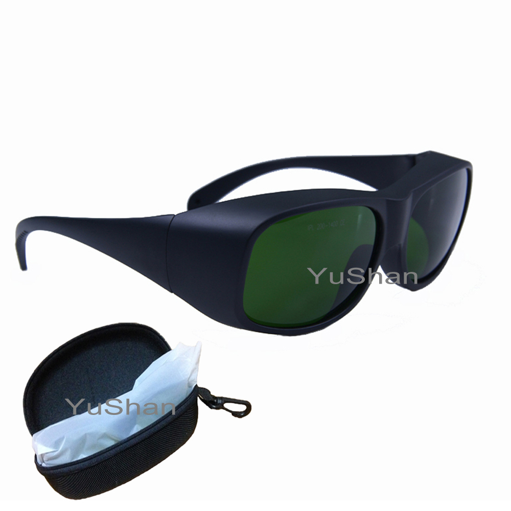 IPL safety glasses 200-1400nm Laser protection Glasses Laser Safety Glasses Goggles laser protective safety glasses all round absorption red laser protection goggles safety comfortable eyewears glasses