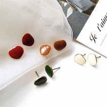 Unique fashion women circular pendant earrings jewelry earring sway geometric statement wedding gift girl  2019