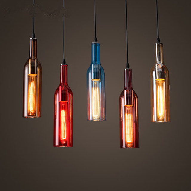 Personality LED Pendant Light Restaurant Bar Cafe Clothing