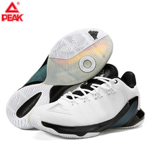 цены PEAK TONY PARKER TP9 Basketball Shoes Men's Drop-in Cushioning Basketball Sneakers Breathable Sports Outdoor Footwear