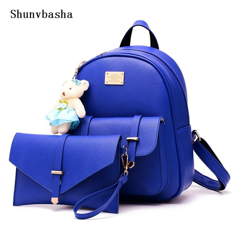 Mochila Feminina New Rushed Mochilas Fashion font b Women b font Backpack For 2017 High Quality
