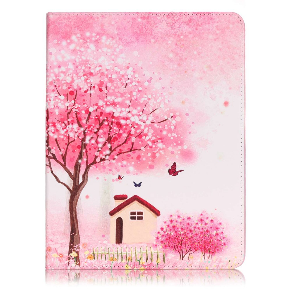 New Fashion High Quality Painted With Stand Flip PU Leathers For iPad 2 3 4 Case For Apple iPad 2 3 4 Smart Case Cover