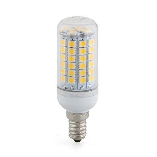 Bombilla Lpara Foco Luz Blanco Cido E14 8W 69 LED 5050 SMD AC 220V 3000K free shipping