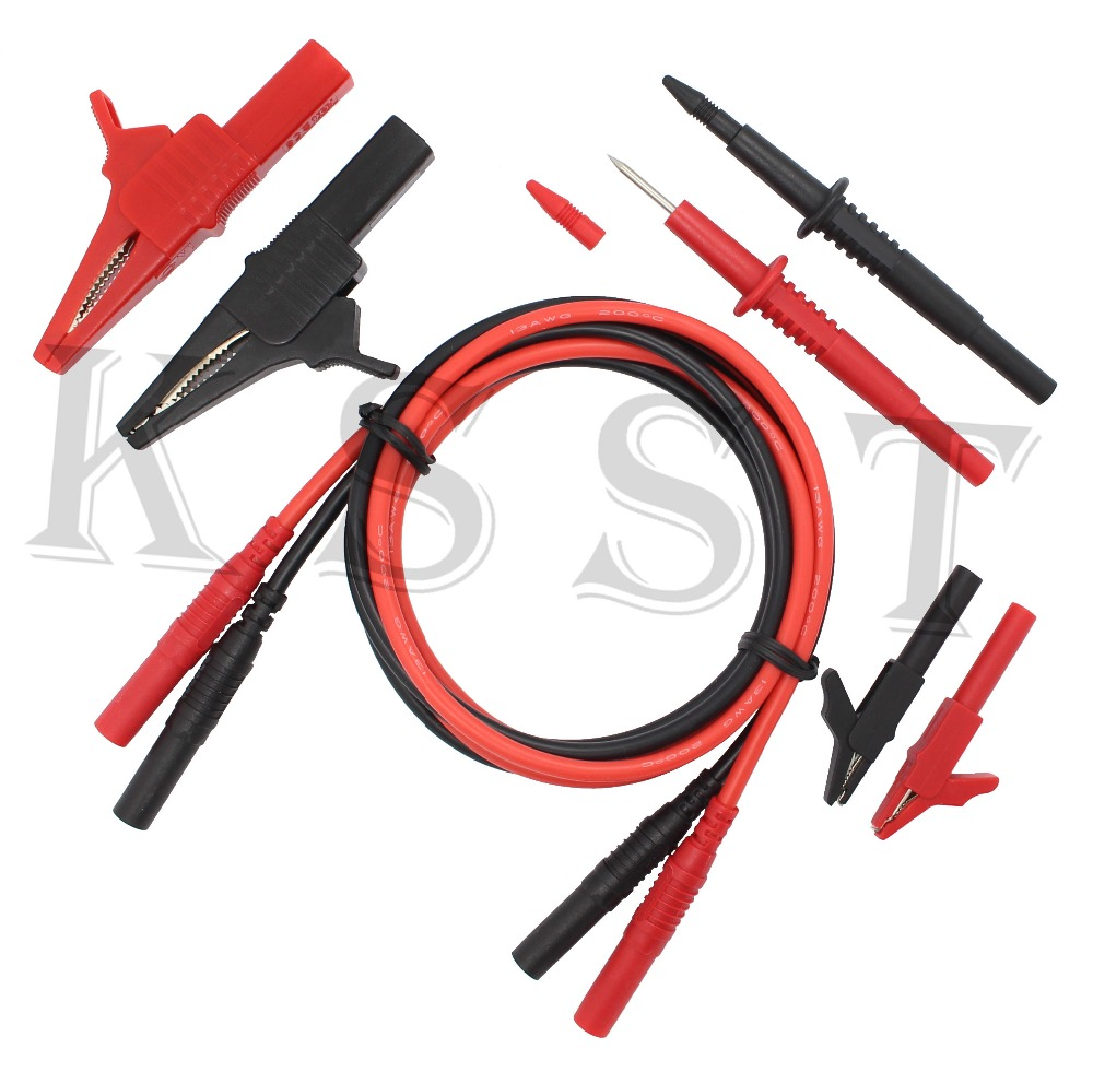 DMM04B Electronic Specialties Test Lead kit Automotive Test Probe Kit Multimeter probe leads kit Banana plug