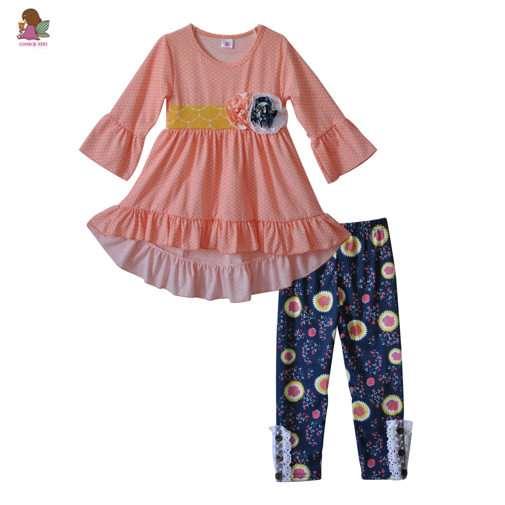 fbb13dd68 Newborn Baby Clothes Sets Fall Winter Fashion Girls Outfits Infant ...