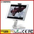 Remax para ipad mini 2 3 4/ar 1 2/pro titular Tablet Suporte Compatível 7-15 polegada MEADOS de 360 Graus de Rotação Base de Silicone Antiski
