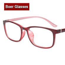 2017 new TR90 light weight full rim mens eyeglasses rectangle frame womens eyewear prescription eye glasses Rxable S3025