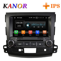 KANOR IPS RAM 4g Octa Core Android 8.0 2din Car Radio For Mitsubishi Outlander 06 12 Headunit GPS Navigation 2 Din Car Stereo