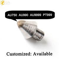 CSJA Jeweler Stamp Tool Rings Bangles Jewellery DIY Making Tools Mold Imported Steel Material AU750 AU990 AU9999 PT999 Mark E539