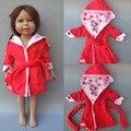 16 дюймов Куклы для 18 дюймов American Girl Спальный Гарнитур Ночной Рубашке 45 СМ reborn baby doll