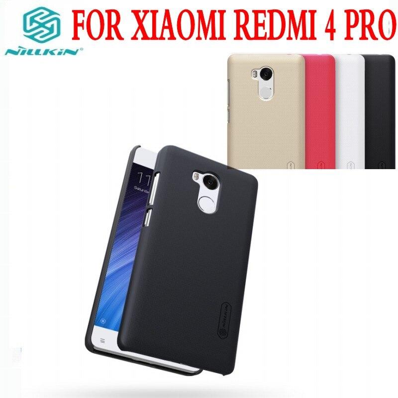 imágenes para Precio de fábrica original de nillkin Súper Frosted Shield contraportada para xiaomi redmi 4 para xiaomi redmi 4 pro contraportada caso de la manera