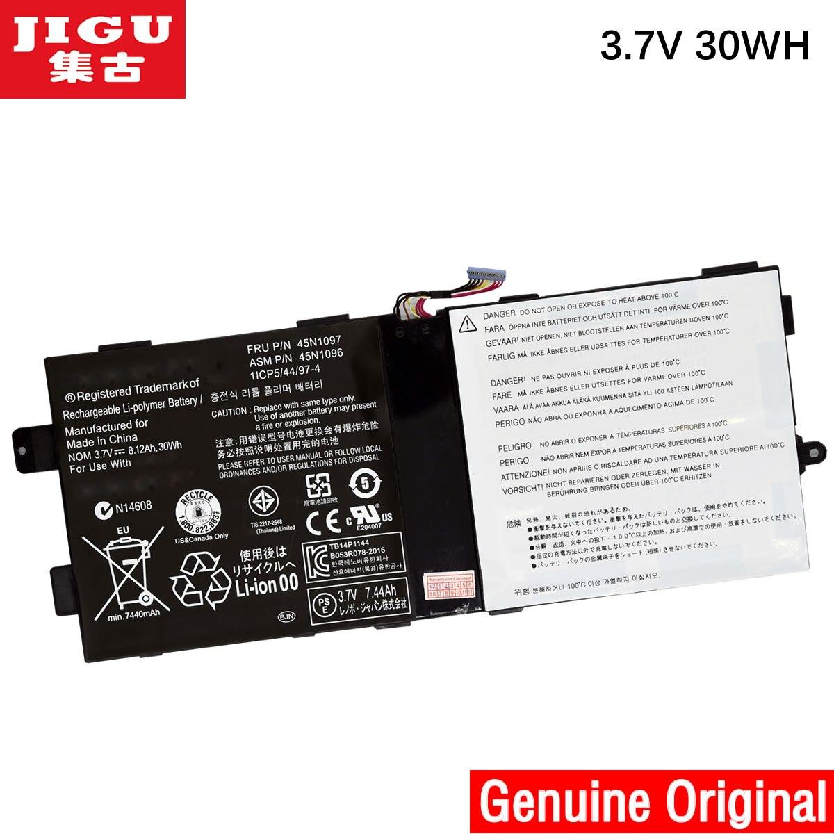 JIGU original new 45N1096 battery for lenovo thinkpad tablet 2 X220T 45N1096 batteria batteries AKKU 3.7V 30WH