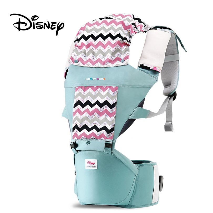 Disney Breathable Multifunctional Baby Carrier Infant Sling Backpack Pouch Wrap Accessories Hands-free Belt Waistband