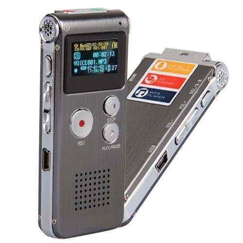 HBUDS MEMTEQ 8 gb Enregistreur Vocal Numérique 8g Dictaphone MP3 Lecteur USB WAV + Micro - 3