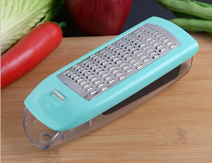 1PC Creative Slicer Vegetable Cutter with Stainless Steel Blade Manual Multi function Potato Peeler Carrot Graters OK 0764 in Graters from Home Garden