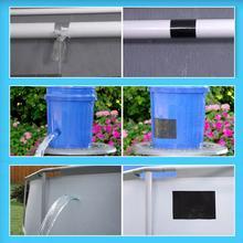 Cinta de reparación rápida para fugas cinta flexible para reparación de fugas súper fuerte, cinta impermeable para manguera de jardín, Unión de grifo de agua