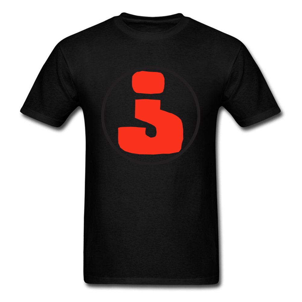 Inverted Mark Question Life 2018 Men T Shirt Custom Teens Own Logo T-shirt Summer Black Red Clothes Personality Group