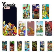 Yinuoda Shaggy and Scooby Doo Cover Soft Shell Phone Case for iPhone X XS MAX  6 6s 7 7plus 8 8Plus 5 5S SE XR 11 11pro 11promax yinuoda national flag iran israel phone accessories case for iphone x 6 6s 7 7plus 8 8plus xs xr xs xr11 11pro 11promax