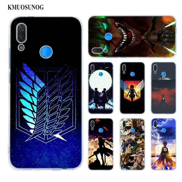 Attack On Titan Soft Silicone Phone Case for Huawei
