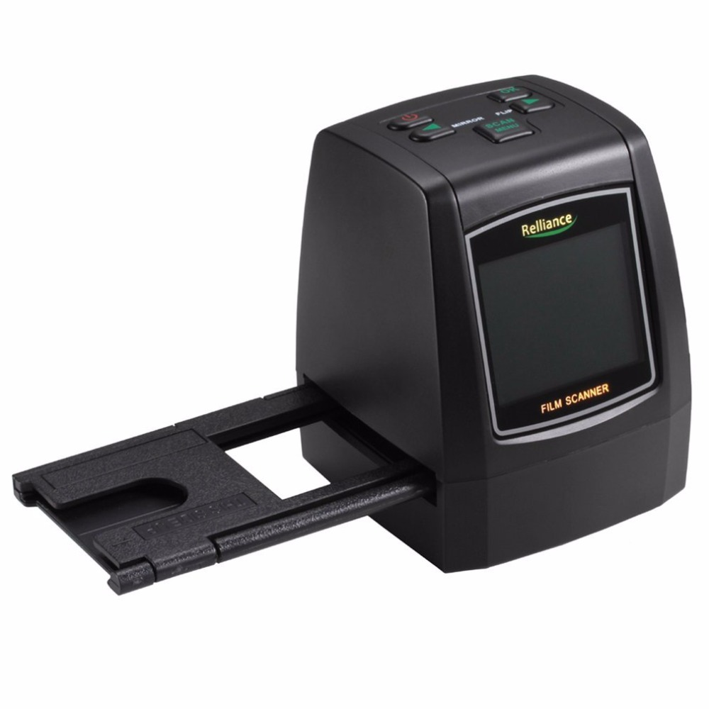 135mm/ 126mm/ 110mm/ 8mm High Definition Film Scanner Fast Photo Printed High Resolution Photo Scanner USB 2.0 Film Converter