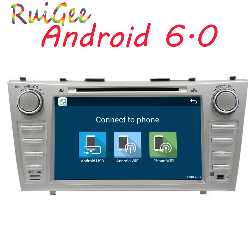1G+16G 2 Din Quad Core 8 Android 7.1 Car DVD GPS Navigation For Toyota Camry 2007 2008 2009 2010 Head Unit Car Stereo radio autoradio 2 din android 7 1 car dvd player for toyota camry 2007 2008 2009 2010 2011aurion 2006 head unit tape recorder wifi swc