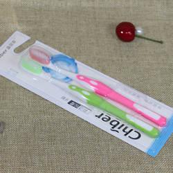 2 шт./упак. двойная ультра бамбуковая зубная щетка бамбук древесный уголь нано зубная щетка для ухода за зубами мягкая щетка для взрослых