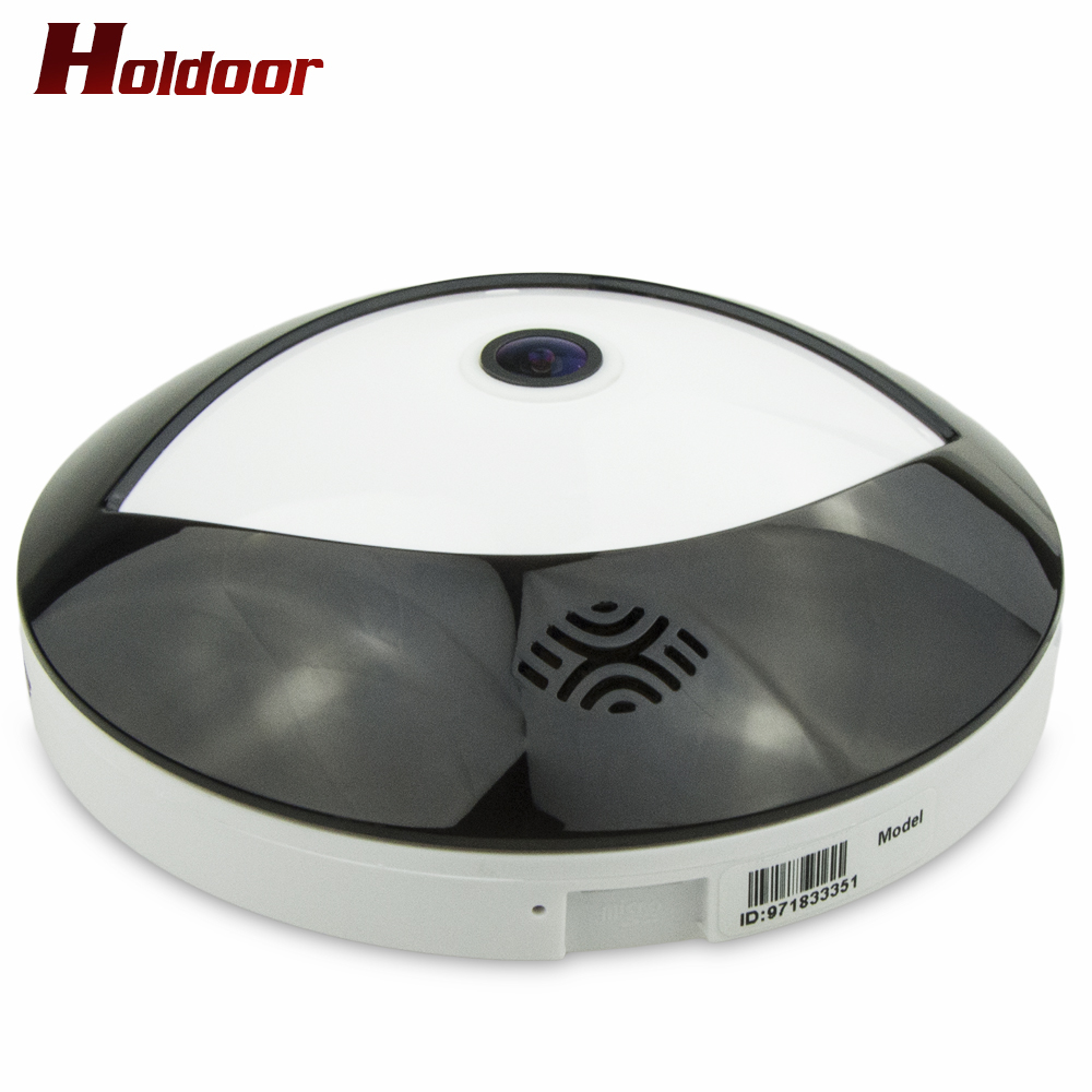 Holdoor 360 Degree VR Panorama Camera HD 3MP Wireless WIFI IP Camera Home Security Surveillance System Video Camera Wi-fi Webcam