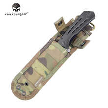 Emerson Knife Case EM8332 1000D Nylon Knife Pouch Bag Airsoft Military Army Utility Pouch Hunting Accessories BK CB MC