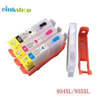 einkshop For hp 934 935 934xl 935xl Replacement Refillable Ink Cartridge for HP OfficeJet Pro 6830 6230 6815 6812 6835 Printer