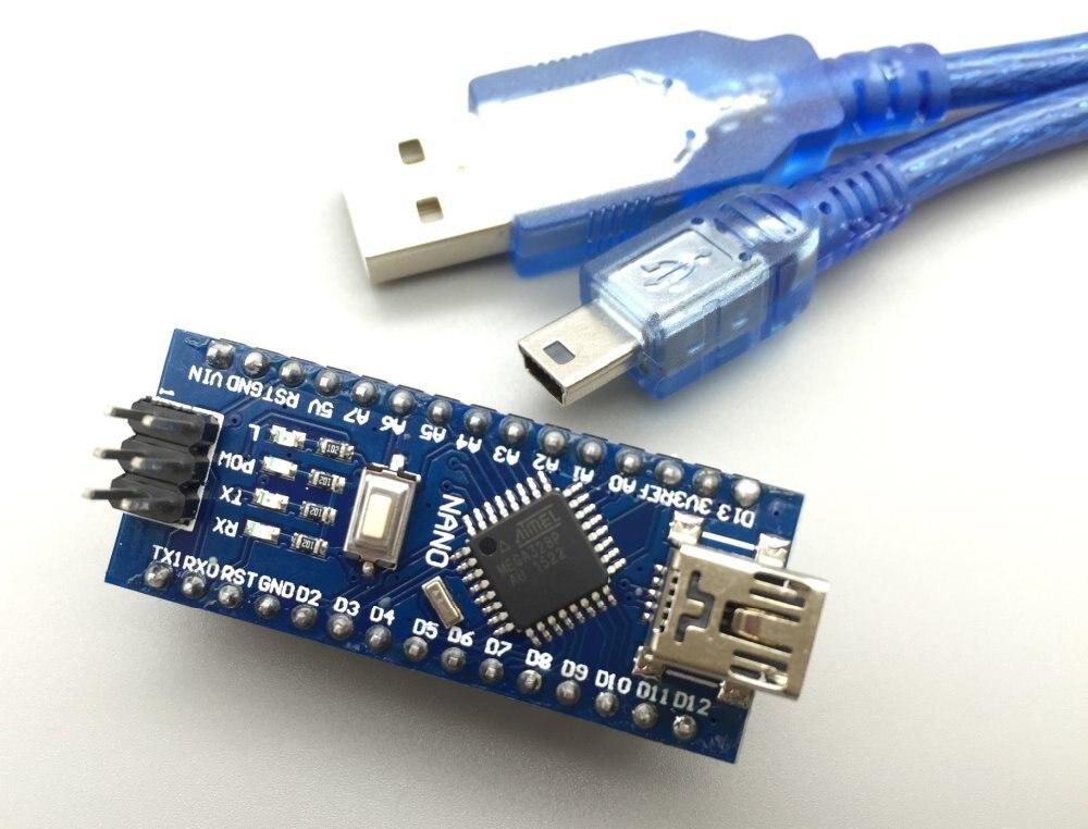 Fruit Pi Nano V3.0 ATmega328P controller compatible with arduino nano CH340 USB driver with CABLE NANO 3.0