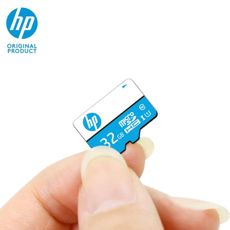 HP Mini Sd Card 32gb Memory Card Micro SD SDHC Cartao De Memoria MicroSD Class 10 U1 Original Tarjeta UHS-I Phone Full HD TF