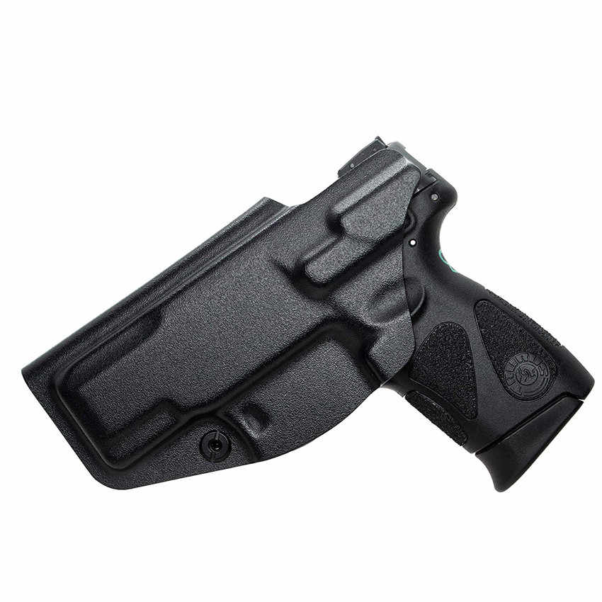 Kydex IWB kılıfı toros için G2C Millennium G2 PT111/PT140 kemer İçinde gizli taşıma çantası 9mm tabanca