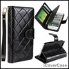 Multi Cards Wallet Leather Case For IPhone 5 5s With Lanyard Photo Holer