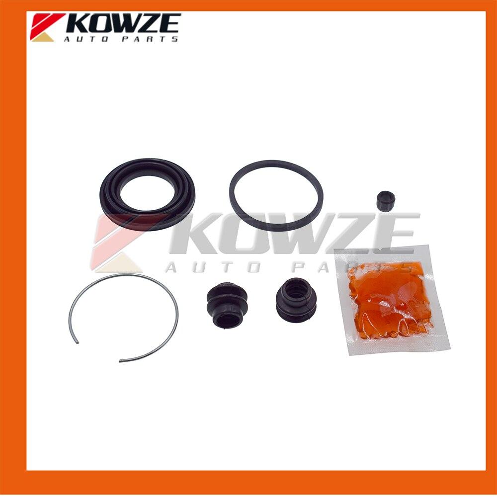 Disc Brake Caliper-Caliper with Installation Hardware Rear Right fits Montero