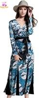 S M L XL XXL Chest 90 106cm Vintage Velvet Spring 2018 Maxi Long Dress Women