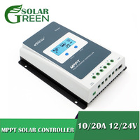 1206AN 2206AN Tracer1206AN Tracer1210AN 10A MPPT Solar Charge Controller cell battery charger control 2210A Tracer Regulator