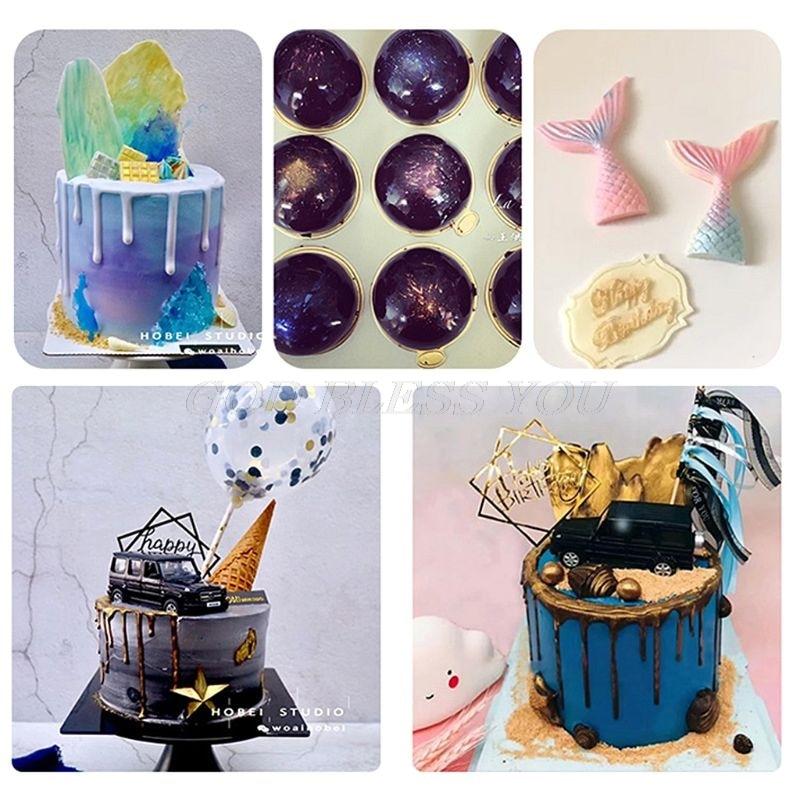 Image 5 - 5g Edible Flash Glitter Golden Silver Powder For Decorating Food Cake Biscuit Baking Supply Cake Decoration-in Cake Decorating Supplies from Home & Garden